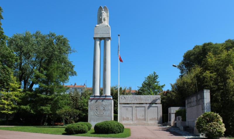 Le monument aux morts de Valence dans le parc Jouvet © Photo Daphné Michelas